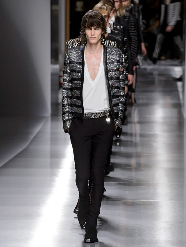 Men's Paris Fashion Week: Balmain Spring/Summer '18