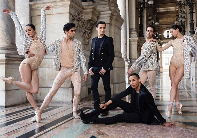 First look: Balmain x Opéra De Paris costumes by Olivier Rousteing