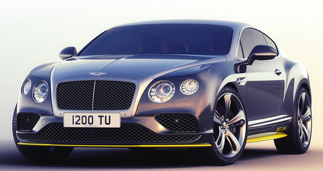 High flying: Bentley unveil seven special edition handmade GT Speeds