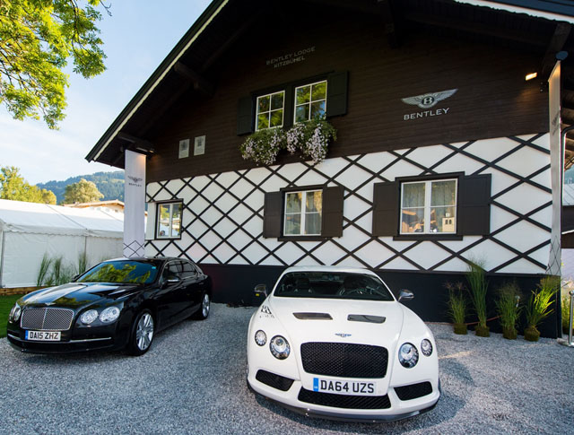 Bentley invites you to their Kitzbuhel cabin