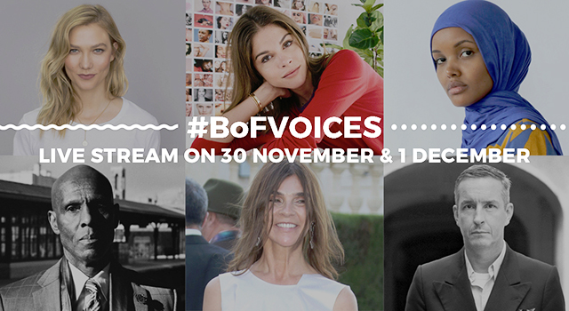 Live: Business of Fashion's #BoFVOICES panel