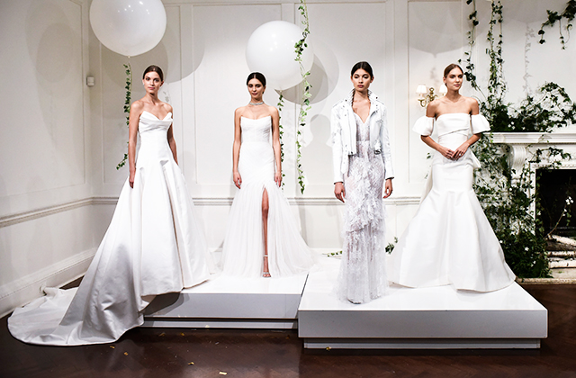 Bridal Fall/Winter '18: Three tiers of traditional dresses