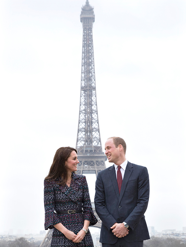 On tour: British Royals' first official visit to Paris