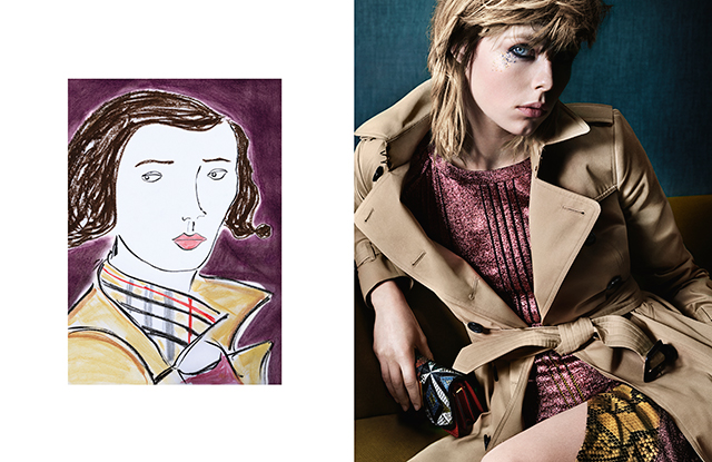 First look: Burberry's new art-inspired campaign