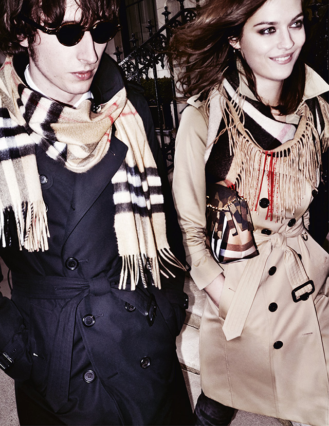 Exclusive first look: The Burberry Autumn/Winter 15 campaign shot by Mario Testino