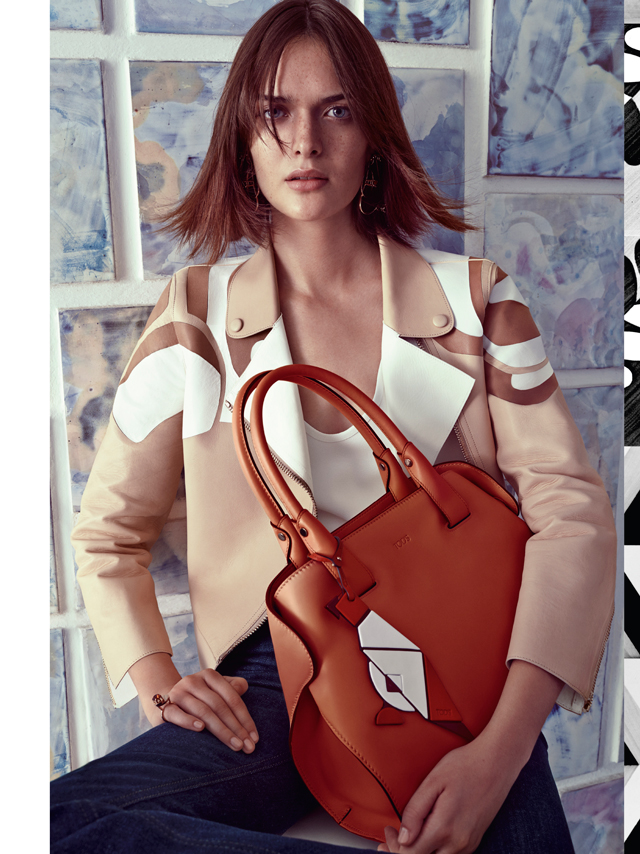 Tod's release colourful new Spring/Summer 15 campaign