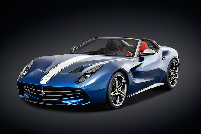 Ferrari unveils its limited edition F60 America model