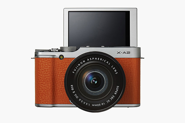 Introducing the new selfie-ready Fuji X-A2 camera