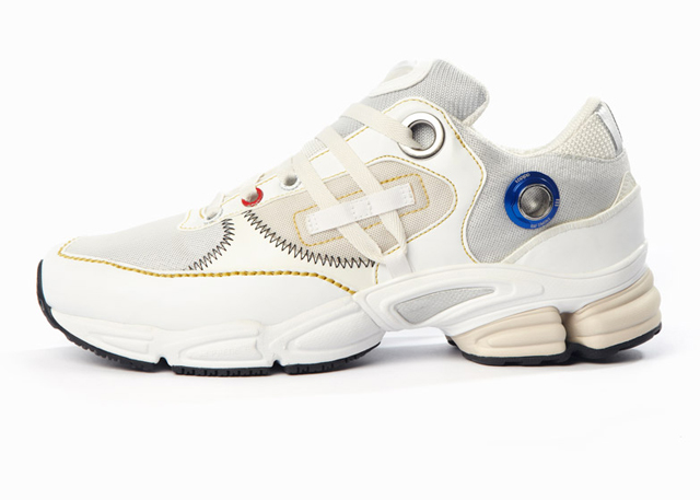 Raf Simons unveils new space-age Adidas trainers