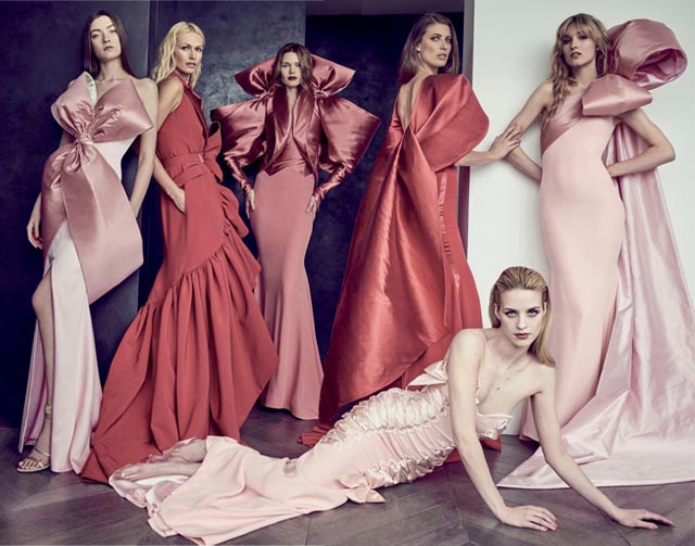 Alexis Mabille presents Haute Couture AW15 as a photography exhibit