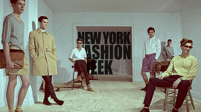 The first New York Men's Fashion Week to take place in July?