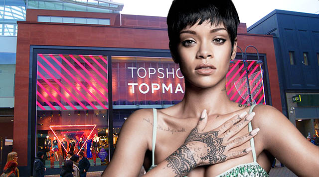 Topshop must pay Rihanna's legal fees following two-year battle