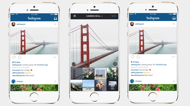 No more cropping: Instagram now allows portrait and landscape orientation