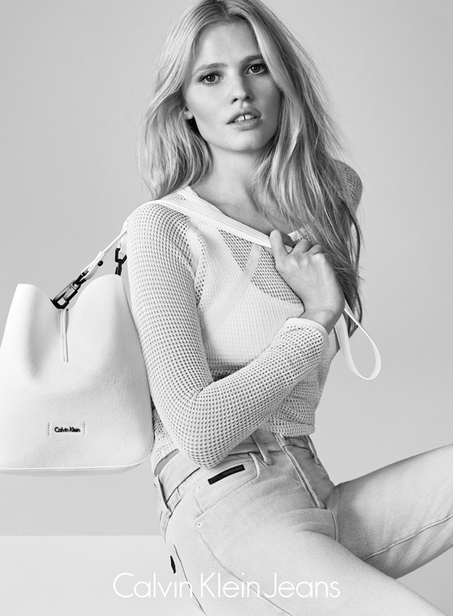 Calvin Klein Jeans tap Lara Stone for summer 2015 campaign