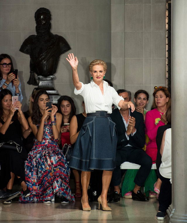 New York Fashion Week: Carolina Herrera Spring/Summer '17