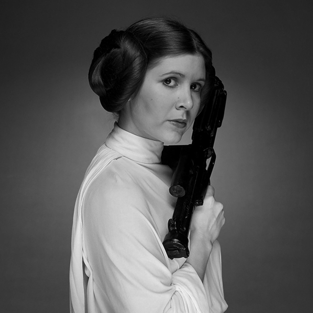 Breaking news: Carrie Fisher has died, aged 60