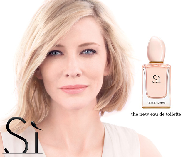 First look: Cate Blanchett stars in new Giorgio Armani fragrance ad