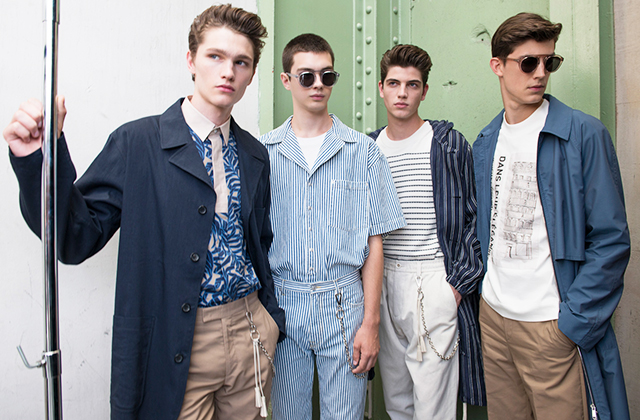 Men's Paris Fashion Week: Cerruti Spring/Summer '18