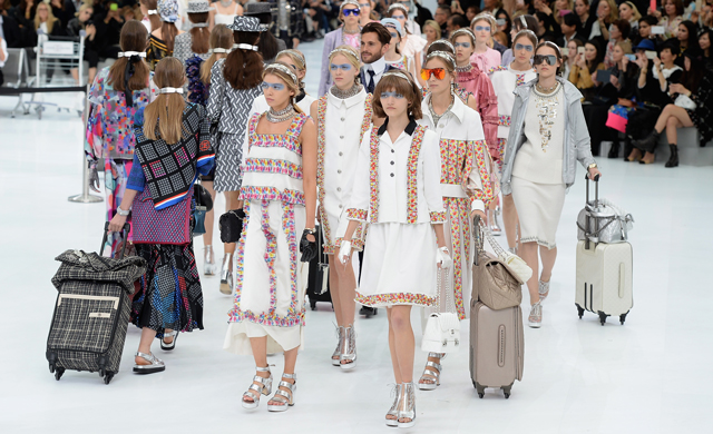 Chanel Cruise 16 collection en route to Cuba