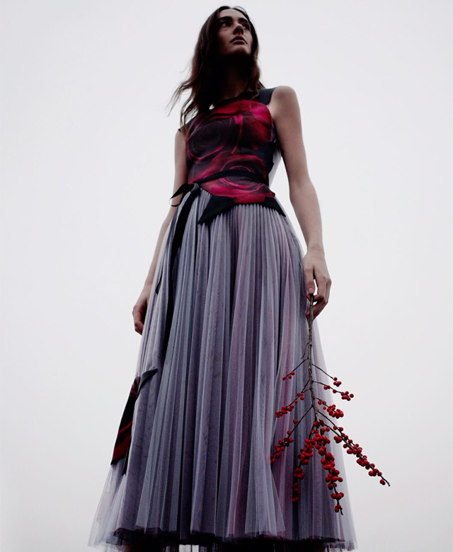Discover Christopher Kane's 'Beauty and the Beast' capsule collection