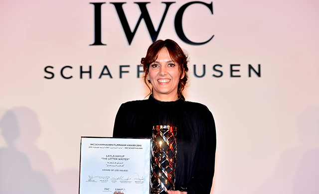 Emirati Layla Kaylif wins IWC Filmmaker Award at DIFF