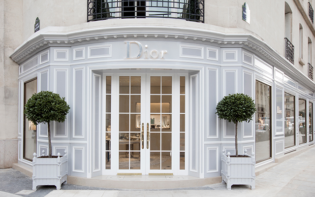 Now open: Dior's Fine Jewellery and Timepieces Boutique in Paris
