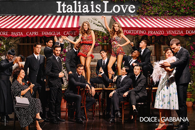First look: Dolce & Gabbana Spring/Summer '16 campaign