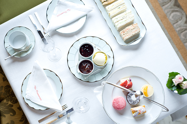 London calling: Tea Time at The Dorchester