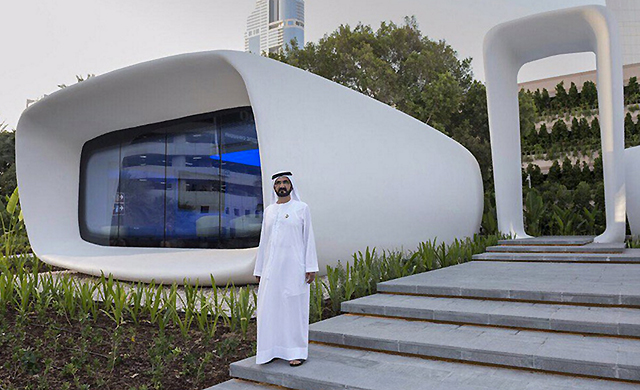 Dubai introduces world's first 3D-printed building