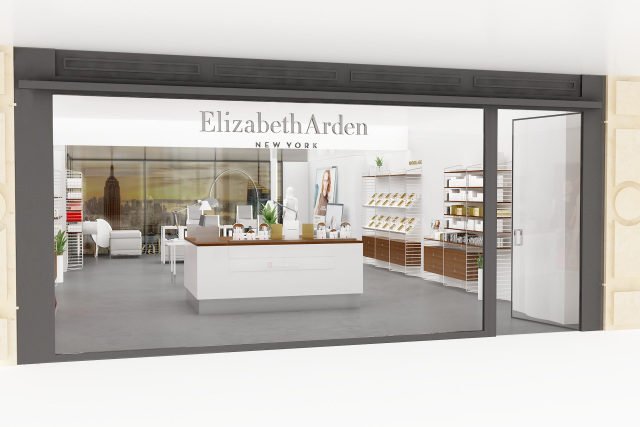 Oo la la: Elizabeth Arden opens first temporary freestanding boutique in Paris