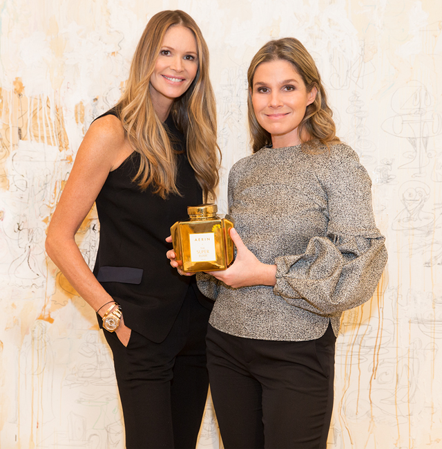 Elle Macpherson launches new Super Elixir with Aerin Lauder