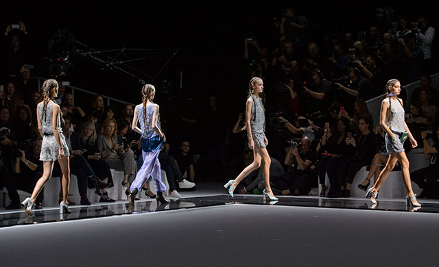 Paris Fashion Week: Emporio Armani Spring/Summer '17