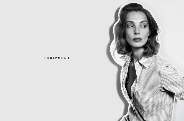 Daria Werbowy shows off her different characters in new Equipment campaign