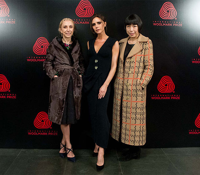 Victoria Beckham, Angelica Cheung and Franca Sozzani declare Woolmark Prize winner