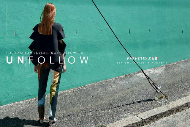 Farfetch debuts its first ever ad campaign