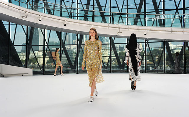 London Fashion Week: Preen by Thornton Bregazzi Spring/Summer 16