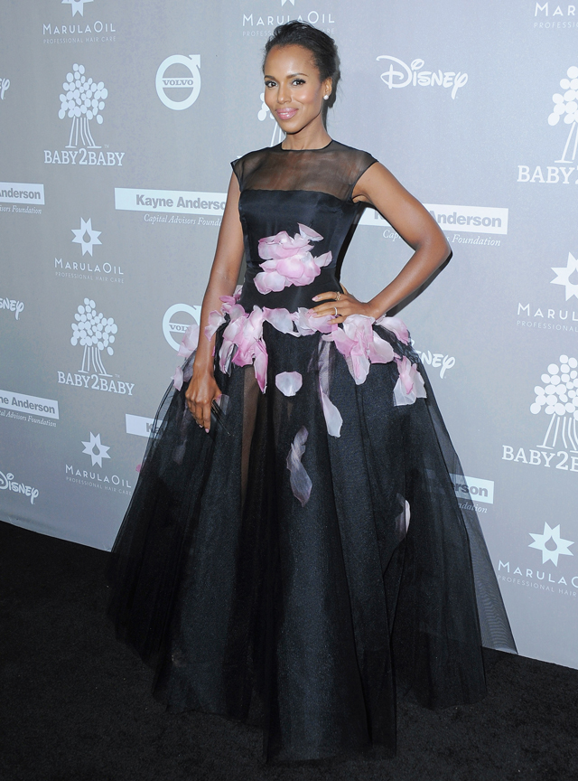 Baby2Baby gala honours Kerry Washington