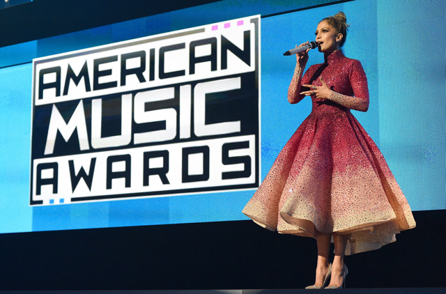 Inside the American Music Awards 2015