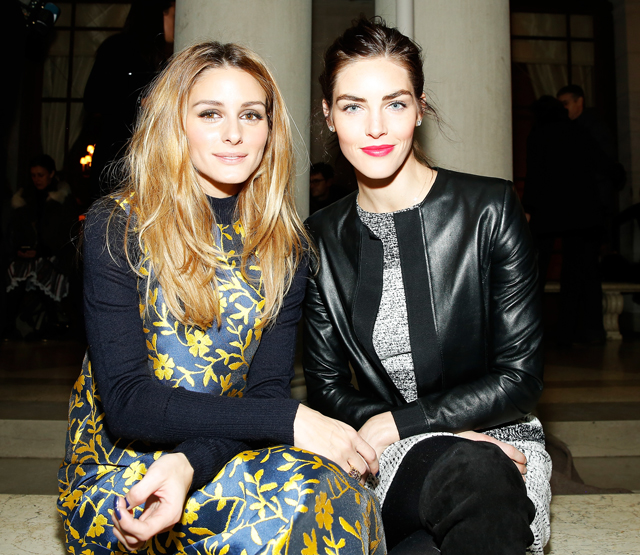 New York Fashion Week: Front row at Carolina Herrera Fall/Winter '16