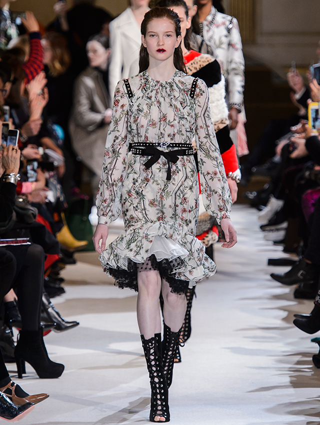 Paris Fashion Week: Giambattista Valli Fall/Winter '17