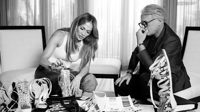 """I love a killer pair of shoes"" – Jennifer Lopez on her Giuseppe collection"