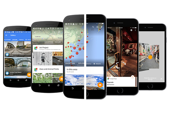Handy: Google Street View launches new app