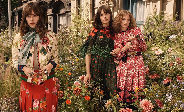 First look: Gucci's Bloom campaign with Dakota Johnson and Hari Nef