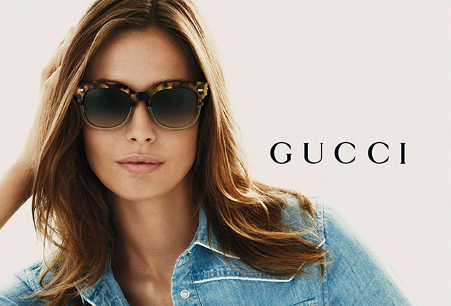 Gucci taps Nadja Bender for new eyewear campaign