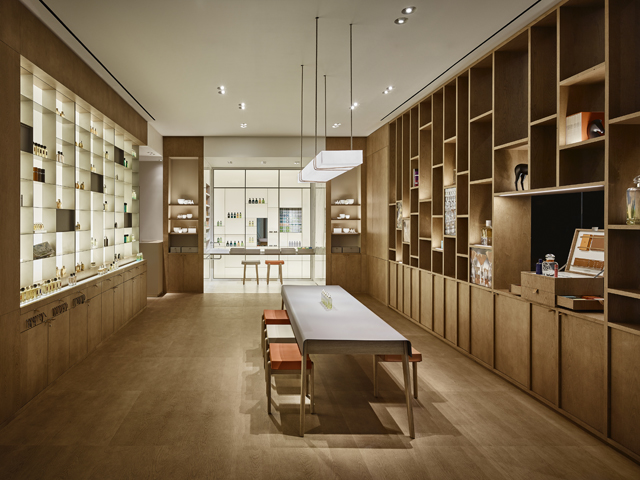 Hermès opens its first stand-alone perfume library in NYC