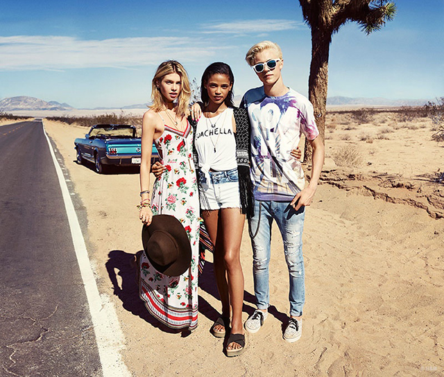 Full look: The H&M Loves Coachella look book is here