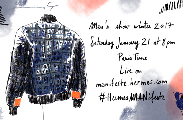 Live: Hermès Autumn/Winter '17 Men's Paris Fashion Week