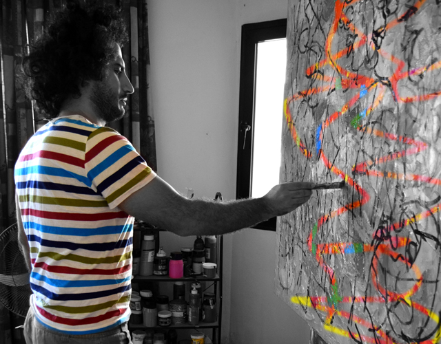 In conversation with Syrian artist Anas Homsi