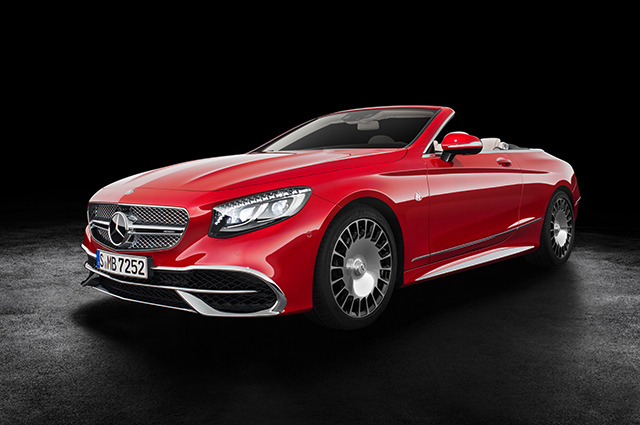 The game-changer: Maybach unveils its first ever convertible