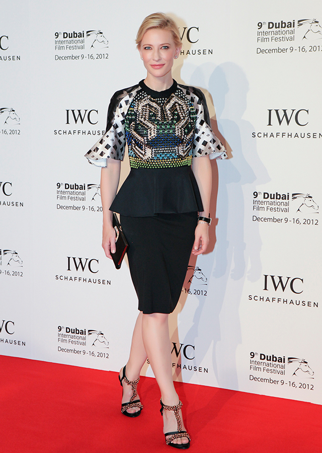 Announced: Cate Blanchett joins IWC Jury for Dubai International Film Festival